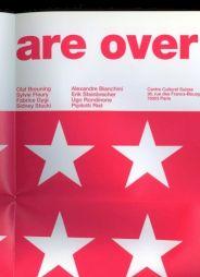 <p>Flyer / dépliant de l'événement (détail) / Design: Niels Wehrspann</p>