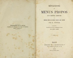 Première page du livre / Source: archive.org — © Centre culturel suisse. Paris