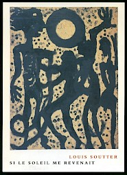"""<p>Louis Soutter, """"Si le soleil me revenait"""", 1937 / Carton de l'événement</p> — © Centre culturel suisse. Paris"""