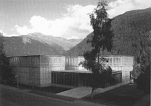 Annette Gigon & Mike Guyer, Musée Ernst Ludwig Kirchner, Davos, 1991-1992 / Photo: D.R. — © Centre culturel suisse. Paris