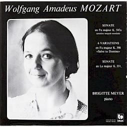 Wolfgang Amadeus Mozart, Brigitte Meyer, piano (jaquette du disque) — © Centre culturel suisse. Paris