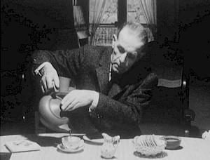 """Michel Soutter """"Gustave Roud, poète"""", 1965 / Capture vidéo — © Centre culturel suisse. Paris"""