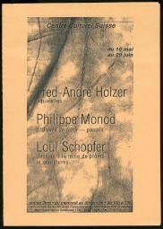 <p>Couverture de la brochure de l'exposition</p>