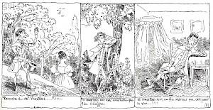 """Rodolphe Töpffer, """"L'histoire de Monsieur Vieux-Bois"""" (extrait) — © Centre culturel suisse. Paris"""