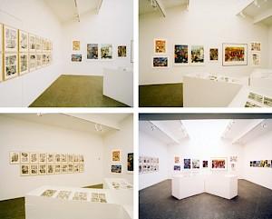 """""""Comix"""", vues d'exposition / Photo: Olivier Meylan — © Centre culturel suisse. Paris"""