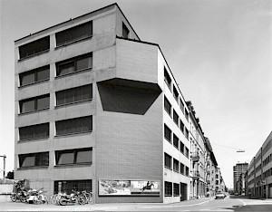 Diener & Diener, Administration building, Hochstrasse, Basel, 1985-1988 / Photo: D.R © Diener & Diener