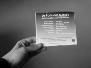 """<p>""""Le Paris des Suisses"""", jaquette du CD  / Verso</p>"""