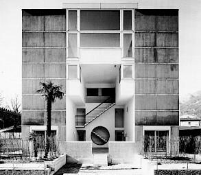 La maison d'Aurelio Galfetti, 1986 / © Archivio del Moderno Accademia di architettura, Mendrisio