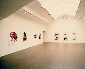 Vue de l'exposition de Francine Simonin / Photo: Olivier Meylan — © Centre culturel suisse. Paris