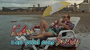 """""""L'Art n'est point sans Soucy"""", capture d'écran, générique du film / © Bruno Carrière"""