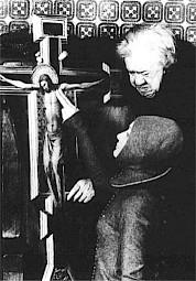"""Michel Simon dans """"Blanche"""" de Walerian Borowczyk, 1971 — © Centre culturel suisse. Paris"""