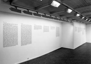 <p>Vue de l'exposition (Bernard Comment) / Photo: Olivier Meylan</p>