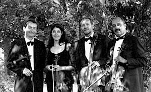 Quatuor Modigliani aujourd'hui (Edouard Jaccottet (violon)  Alba Cirafici (violon), François Jaccottet (violoncelle), José Madera (alto) / Photo: D.R. — © Centre culturel suisse. Paris