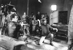 """<p>Thomas Koerfer sur le tournage de """"Henri le Vert""""</p>"""