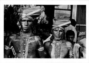 <p>Kerala, 1935, Guerriers Nayars a Trivandum / Photo: Ella Maillart / © Musée de l'Élysée, Lausanne</p>