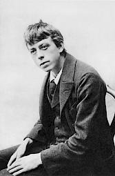 Robert Walser, circa 1913 / Photo: D.R. — © Centre culturel suisse. Paris
