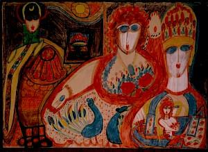 "Aloïse, ""Meine Liebe Mutti"" — © Centre culturel suisse. Paris"