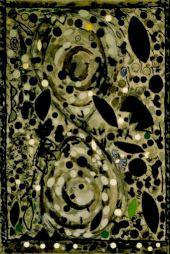 """<p>Christianne Lovay """"Une pomme, un corbeau, un os humain"""", 1992</p>"""