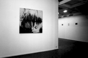 """<p>""""Pied à terre"""", vue d'exposition (Marie Vieli et Beusch resp. Cassani)</p>"""