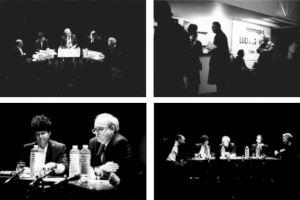<p>Durant le colloque, Paris, janvier 1993 / Photo: D.R.</p>