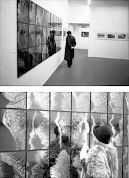 Vues de l'exposition le soir du vernissage / Photo: Alain Ceyssac — © Centre culturel suisse. Paris