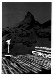 <p>Le Mont-Cervin par Michel Séméniako, 1990 (carton de l'événement)</p>