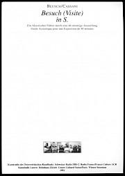 Carton de l'événement — © Centre culturel suisse. Paris