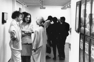 <p>Vernissage de l'exposition avec Bice Curiger et Christoph Kuhn / Photo: Alain Ceyssac</p> — © Centre culturel suisse. Paris