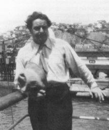 <p>Arthur Honneger en tournée à Rio de janeiro en 1929 / Collection Pascale Honneger</p>