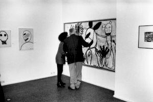 <p>Vue de l'exposition au Centre Culturel Suisse, 1992 / Photo: D.R.</p>