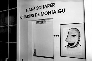 Vue de l'exposition au Centre Culturel Suisse, 1992 / Photo: D.R. — © Centre culturel suisse. Paris
