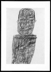 Carton de l'évènement  / Illustration: Charles-Albert Cingria, dessin de Jean Dubuffet (1946) — © Centre culturel suisse. Paris