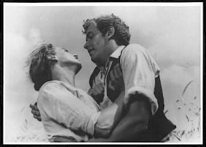 """Hans Trommer, Valerien Schmidely, """"Roméo et Juliette au village"""", 1941 (carton de l'événement) — © Centre culturel suisse. Paris"""