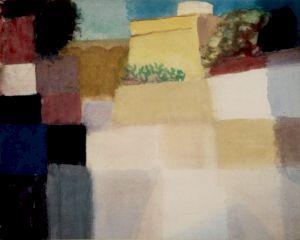 """<p>""""Citadelle à Tunis II"""", aquarelle, 1920 / Collection privée, Vevey ( CH)</p>"""