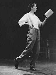 Anne Bennent lit Walser / Photo: D.R. — © Centre culturel suisse. Paris
