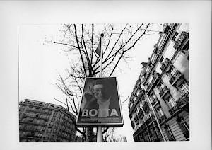 Affiche de l'exposition dans Paris / Photo: Katrin Bötzel — © Centre culturel suisse. Paris