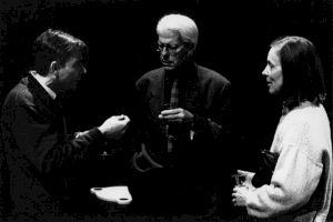 """<p>Francis Boggaert et Lus Boissonas lors de la """"Rétrospective Michel Soutter"""" / Photo: Katrin Bötzel</p>"""