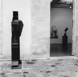 <p>Paolo Bellini, sculptures dans la cour du CCS / Photo: D.R.</p>