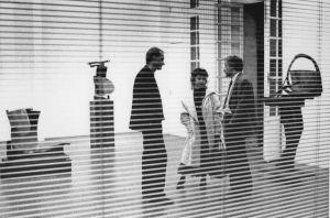 <p>Paolo Bellini, vue d'exposition depuis le bureau du CCS / Photo: D.R.</p>