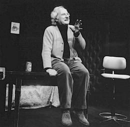 "<p>Hubert Kronlachner dans ""Der Kontrabass"" / Photo: D.R.</p>"