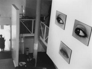 <p>Peter Knapp (vue d'exposition) / Photo: D.R.</p>