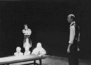 """Claude Vuillemin et Brigitte Raul dans """"Adolphe ou l'inconstant"""" / Photo: D.R. — © Centre culturel suisse. Paris"""