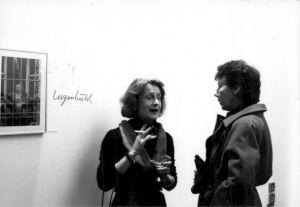 <p>Vernissage (Florence Pignet et Béatrice Martin) / Photo: D.R.</p>