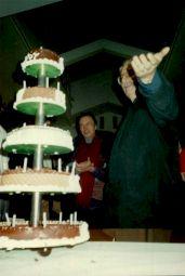 """<p>""""La fête à Freddy"""", le 5 novembre 1988, en présence de Freddy Buache / Photo: D.R.</p>"""