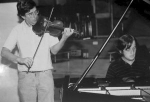 <p>Robert Zimansky (violon) et Christoph Keller (piano) / Photo: D.R.</p>