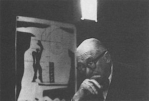 Le Corbusier et le modulor / Photo: René Burri — © Centre culturel suisse. Paris