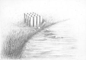 """<p>Carton de l'événement """"Itinéraires dessins"""" / dessin Andre Stempfel</p>"""