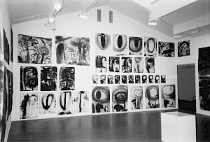 """Miriam Cahn, """"Lieux stratégiques, lieu de menstruation"""" / Photo: DR — © Centre culturel suisse. Paris"""