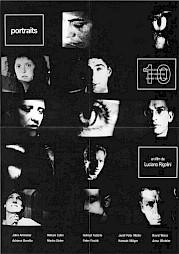 """<p>Luciano Rigolini, """" Portraits"""", flyer de la projection au Centre culturel suisse</p>"""