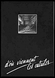 Couverture de la brochure, affiche de l'évènement / Graphisme: Dominique Bourgeois / Photo: Quentin Bertoux — © Centre culturel suisse. Paris